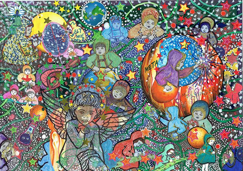Daniela Manutius Forster Heart Art image 2