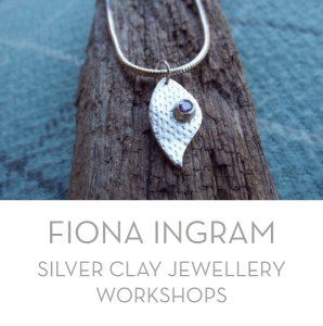 These silver clay workshops teach the manipulation, shaping and moulding of silver clay and then the firing of it to turn the clay into pure silver items such as earrings, pendants, etc.