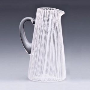 BTU Studios glass jug image for Fisherton Mill's exhibitors page