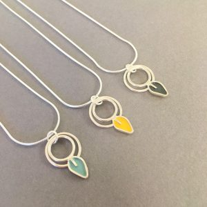 Pendants by Emma Leonard available at Fisherton Mill