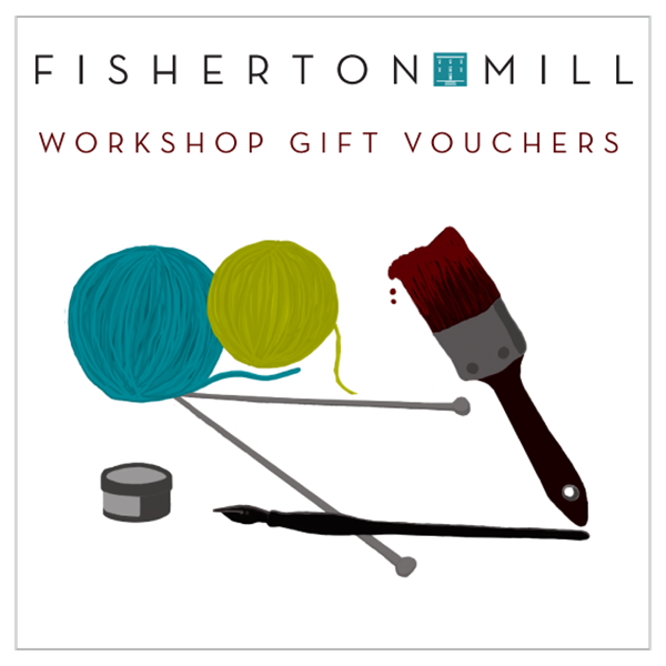 Workshops Gift Vouchers available to buy from Fisherton Mill