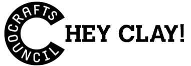 Crafts Council Hey Clay! Logo