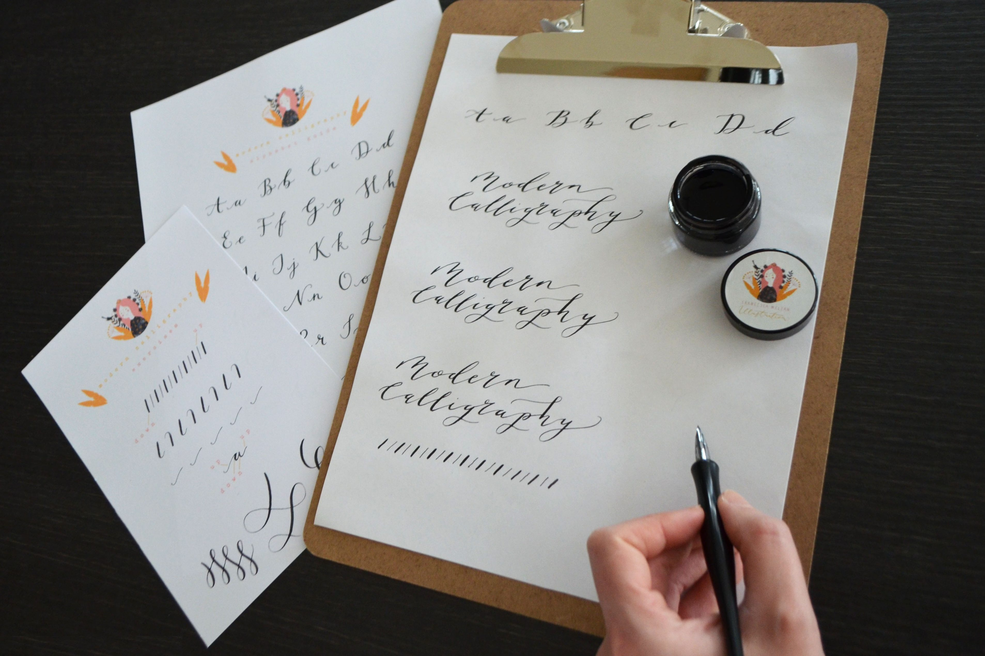 Francesca McLean Introduction to Modern Calligraphy image