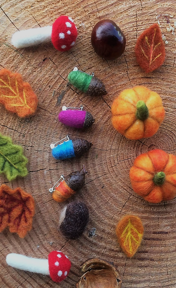 Autumn Woodland Felt workshop