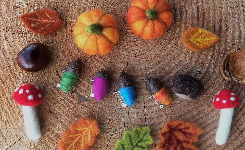 Autumn Woodland Felt workshop