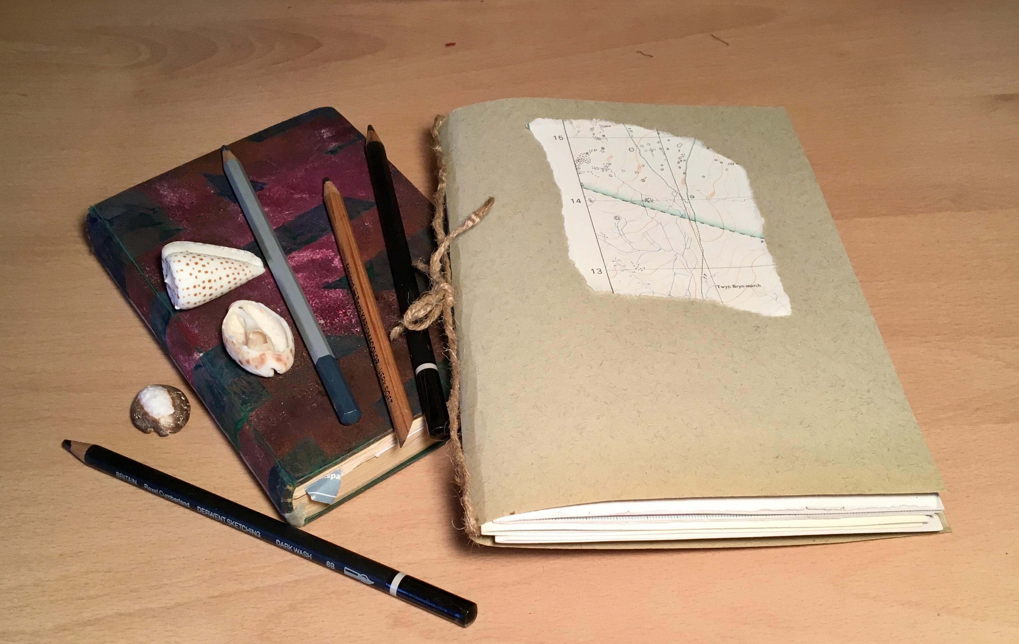 Zoe Crockford Sketchbooks workshop image