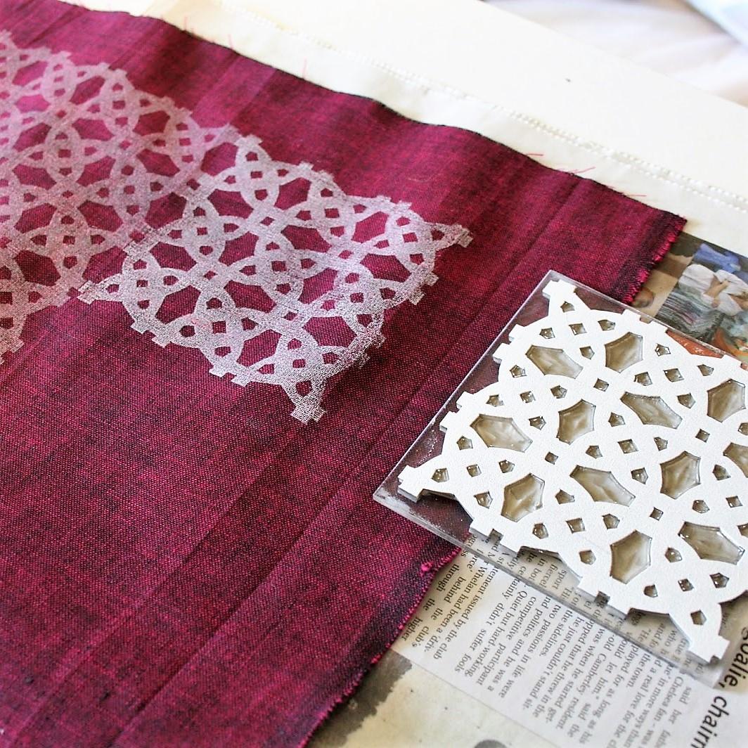 Gemma Dunn Block Printing on Fabric Image