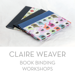 Claire Weaver bookbinding workshops image