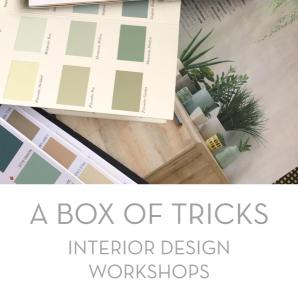 A Box of Tricks Interior Design Workshops Image