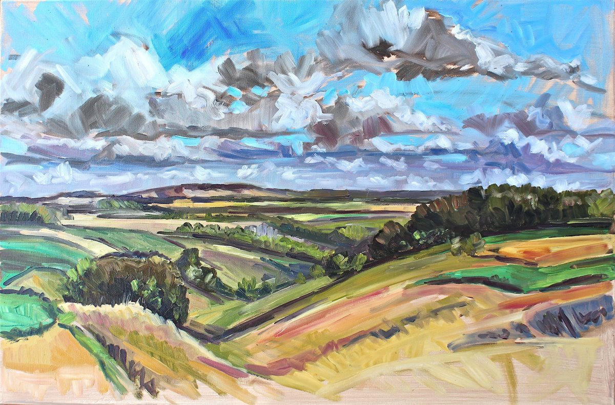 Widdington Late July - landscape