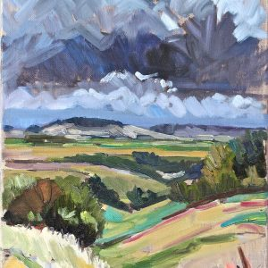 Landscape of the Plain - Rob Hames Solo Exhibition publicity image