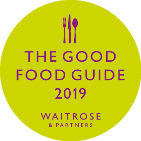 Fisherton Mill are included in the Good Food Guide 2019!