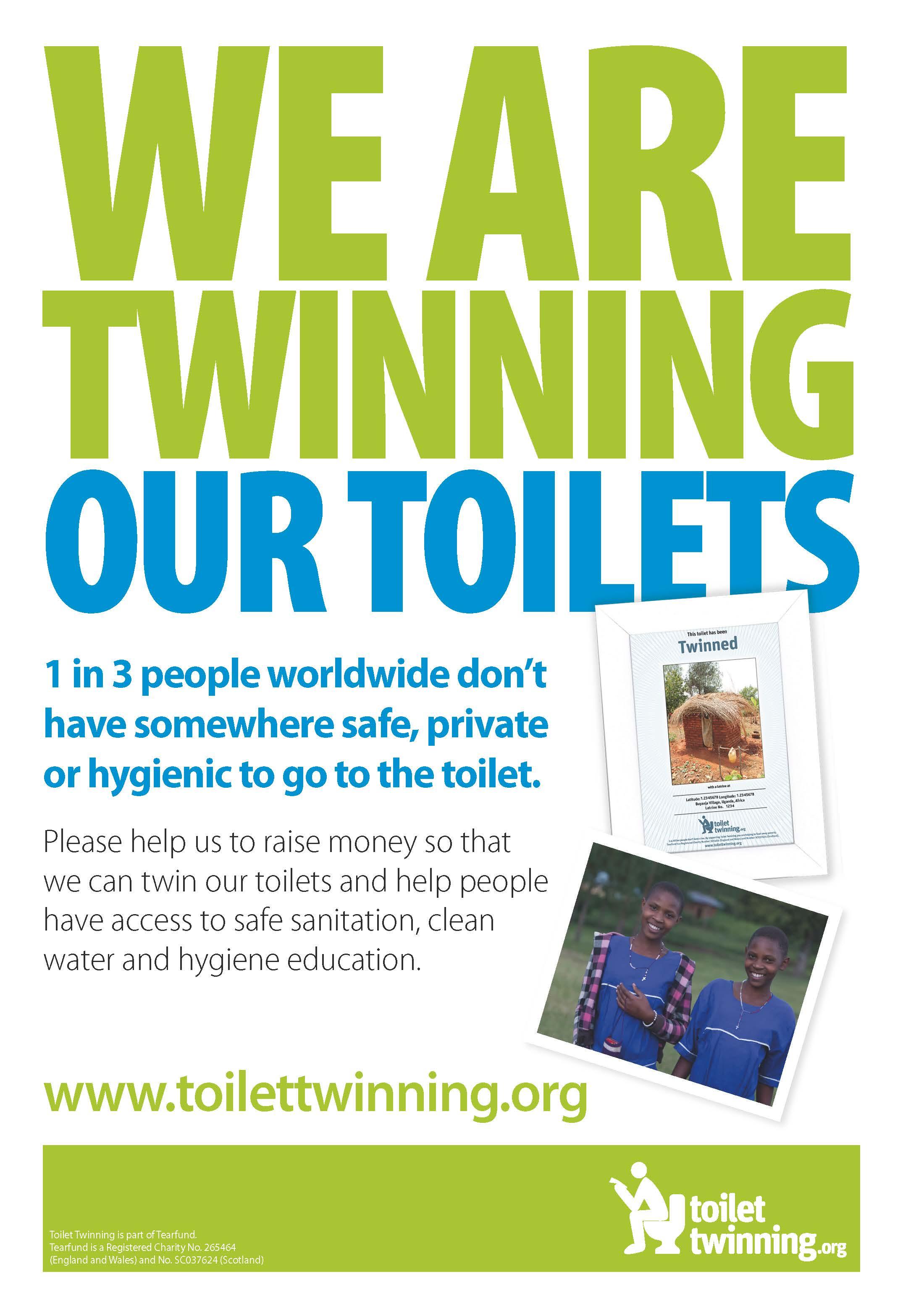 Toilet twinning at Fisherton Mill