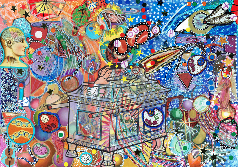 Daniela Manutius Forster Heart Art image 3