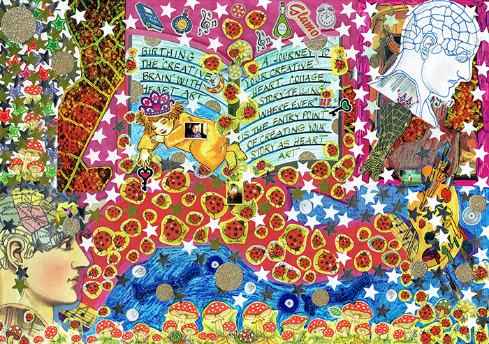 Daniela Manutius Forster Heart Art image