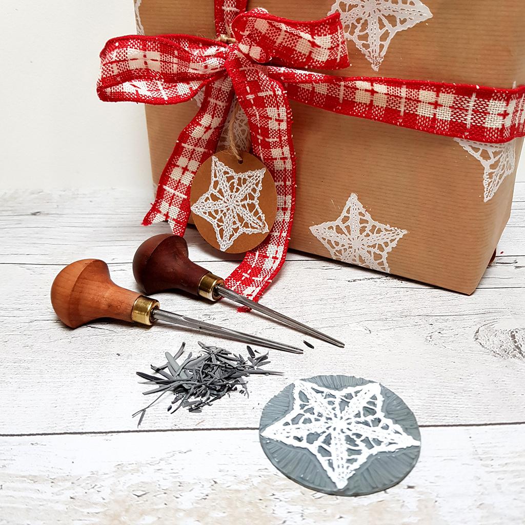 Gemma Dunn Christmas Linoprinting Image 2