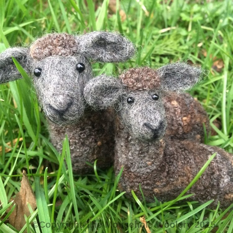 Country Sheep Needle Felting Workshop at Fisherton Mill on 9th March 2019