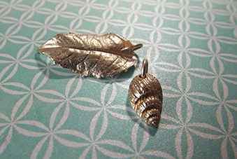 Silver Clay - inspired by nature