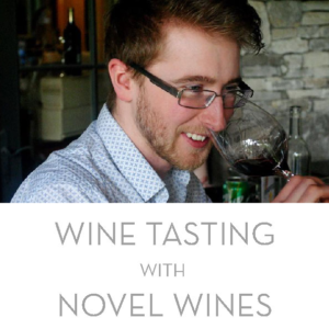 Novel Wines summer wine tasting